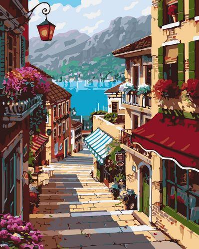 Landscape Paint By Numbers Kits UK For Adult GX433