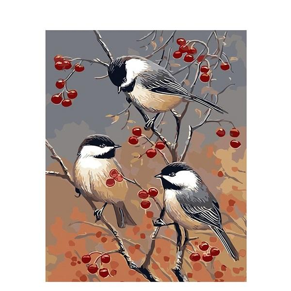 Bird Paint By Numbers Kits UK For Adult PH9288