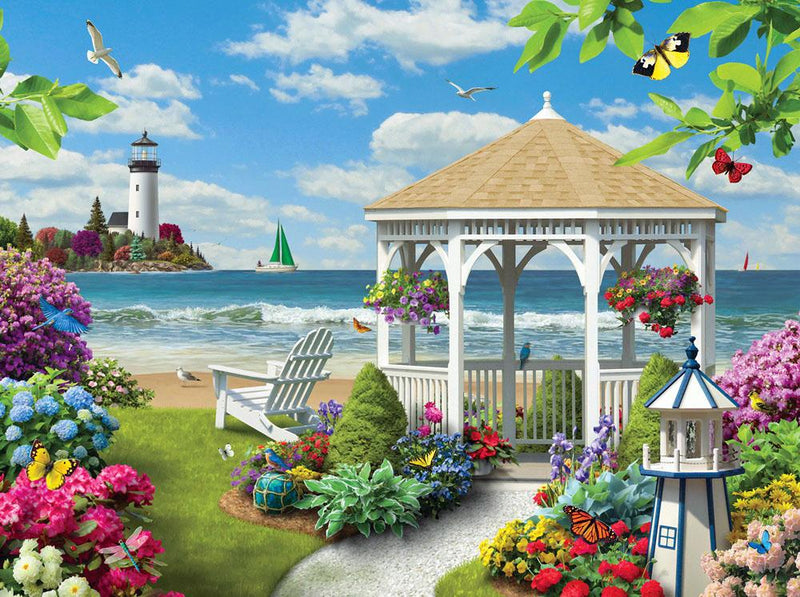 Landscape Paint By Numbers Kits UK For Adult RSB8452