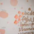 Butterfly wall decals - Sweet peaches | Set of 6