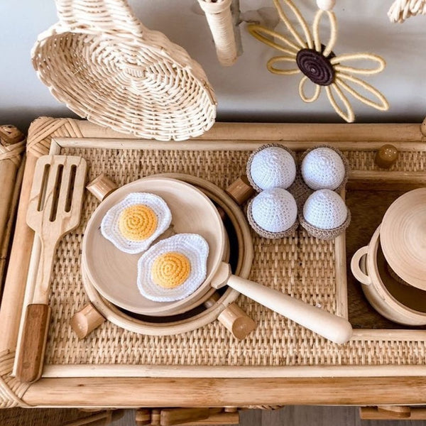 Crochet Egg Set