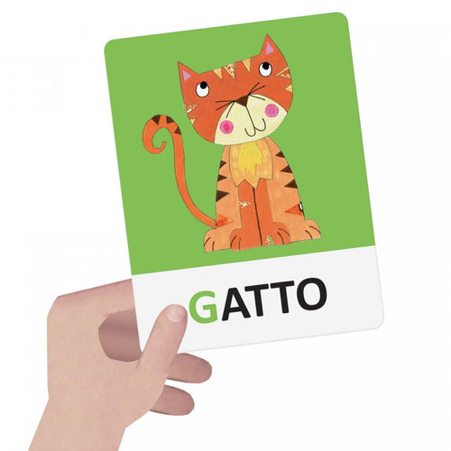 Headu, Alfabeto Tattile-Fonetico Montessori - Flashcards, , Giochi di Società