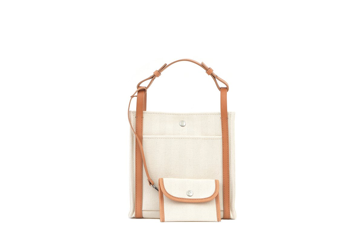 First Ivory Canvas Bag  - Webshop Exclusive - gu_de