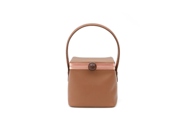 Dona Beige Leather Bag - gu_de