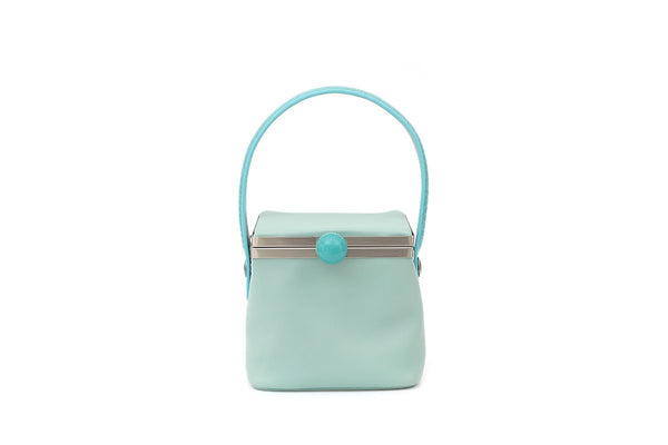 Dona Blue Leather Bag - gu_de