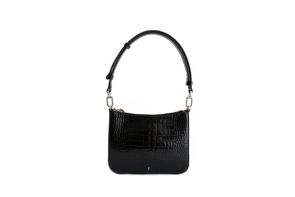 Gigi Black Leather Bag - Webshop Exclusive