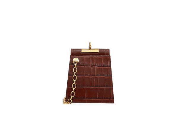 Pre-order Emma Bordeaux Leather Bag - Webshop Exclusive