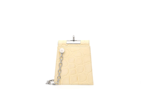 Emma Lemonade Leather Bag