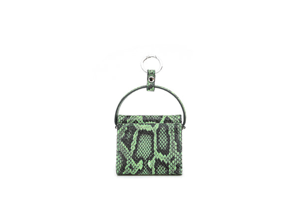 Pre-Order Mini Play Lime Green Leather Bag