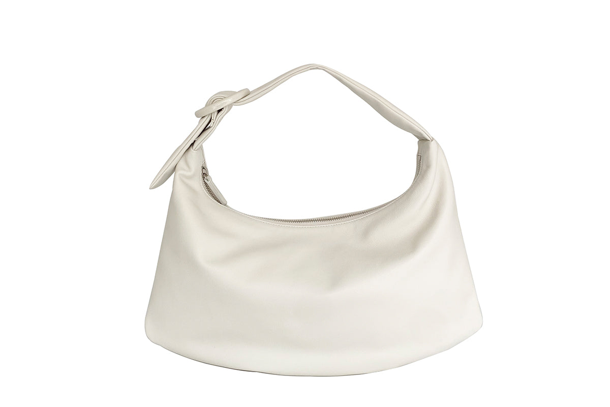 Lisa M Cream Leather Bag - Webshop Exclusive