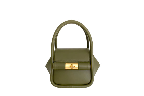 Love Olive Green Leather Bag - Webshop Exclusive
