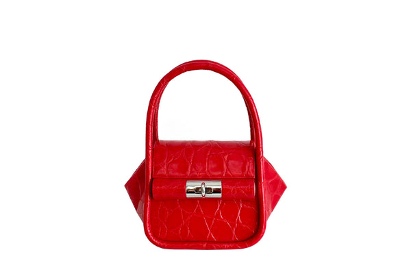 Love Red Leather Bag