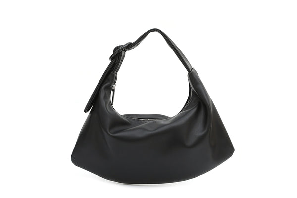 Pre-Order Lisa M Black Leather Bag