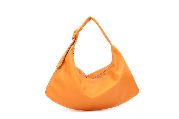 Pre-Order Lisa M Orange Leather Bag - Webshop Exclusive