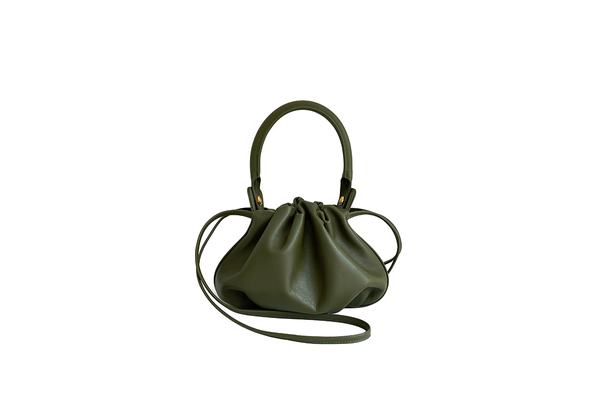 Mini Bonnie Olive Green Leather Bag - Webshop Exclusive