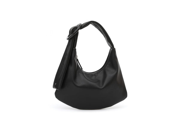 Lisa S Black Leather Bag