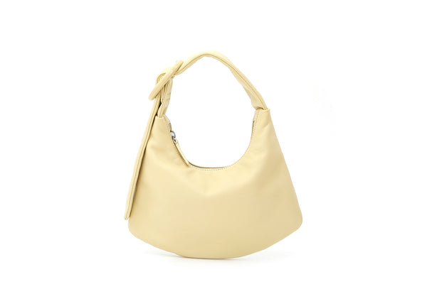 Lisa S Lemonade Leather Bag