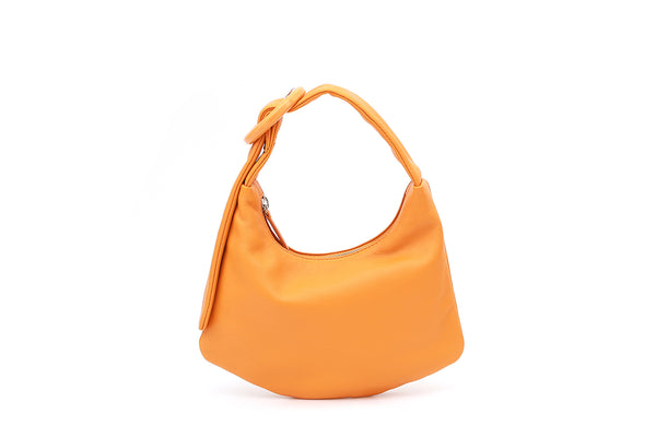 Lisa S Orange Leather Bag