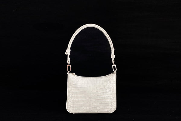Gigi White Leather Bag - Webshop Exclusive