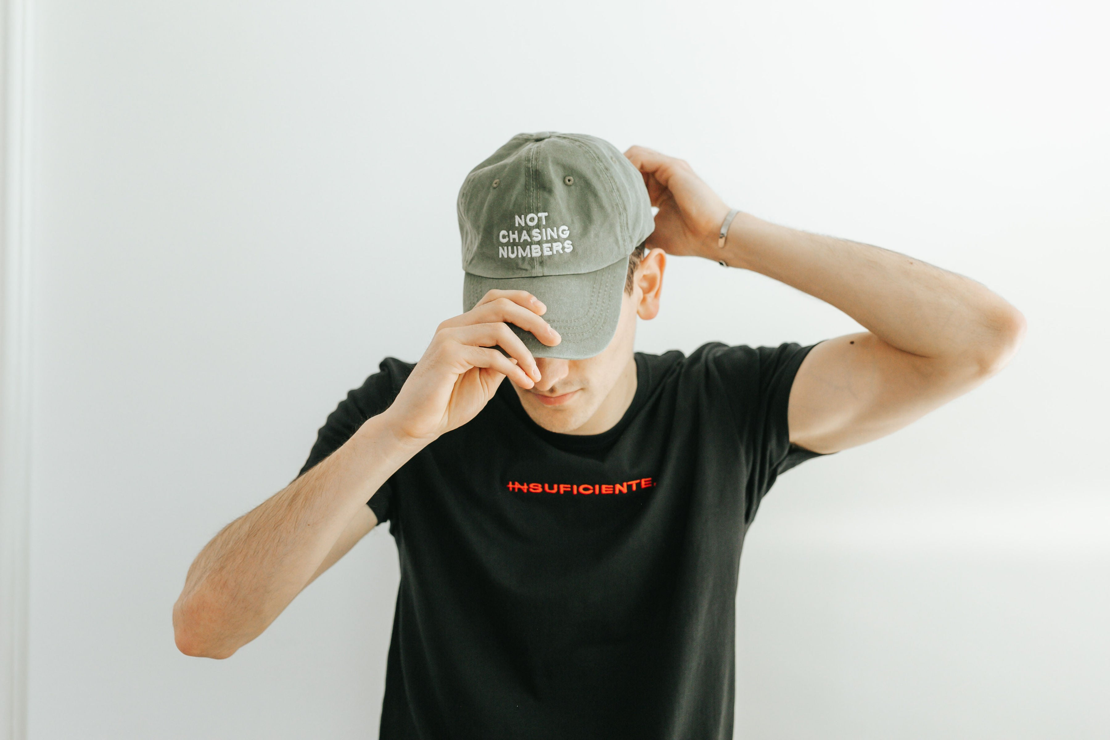 NOT CHASING NUMBERS CAP - MyD Apparel