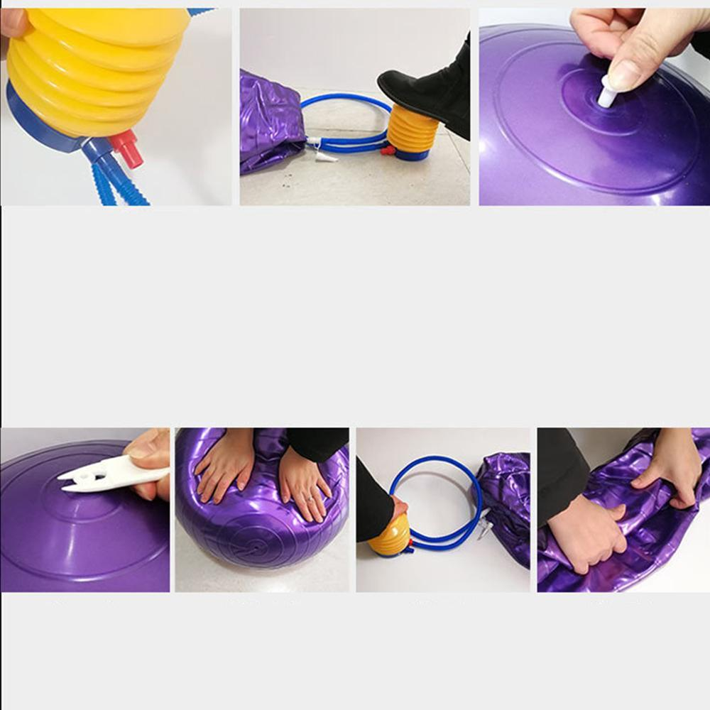 Vieley Anti-Burst and Slip Resistant Exercise Ball Yoga Ball Fitness Ball Birthing Ball
