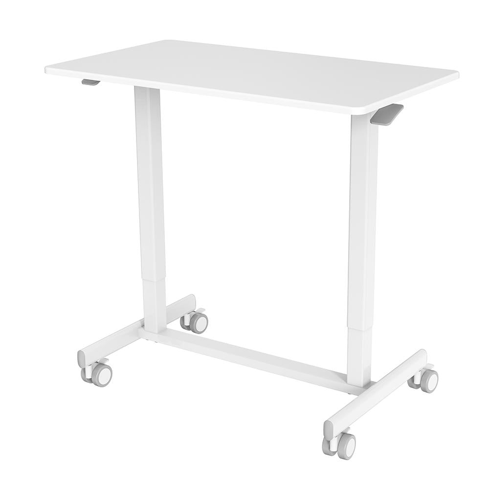 Vieley Height-adjustable Computer Desk with Wheels