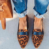 Vieley Flats Slip-on Casual Poited Toe Loafers