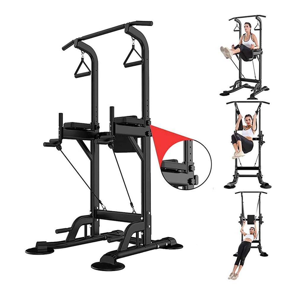 Vieley Multifunctional Fitness Racks Pull-up Bar Exercise Power Equipment