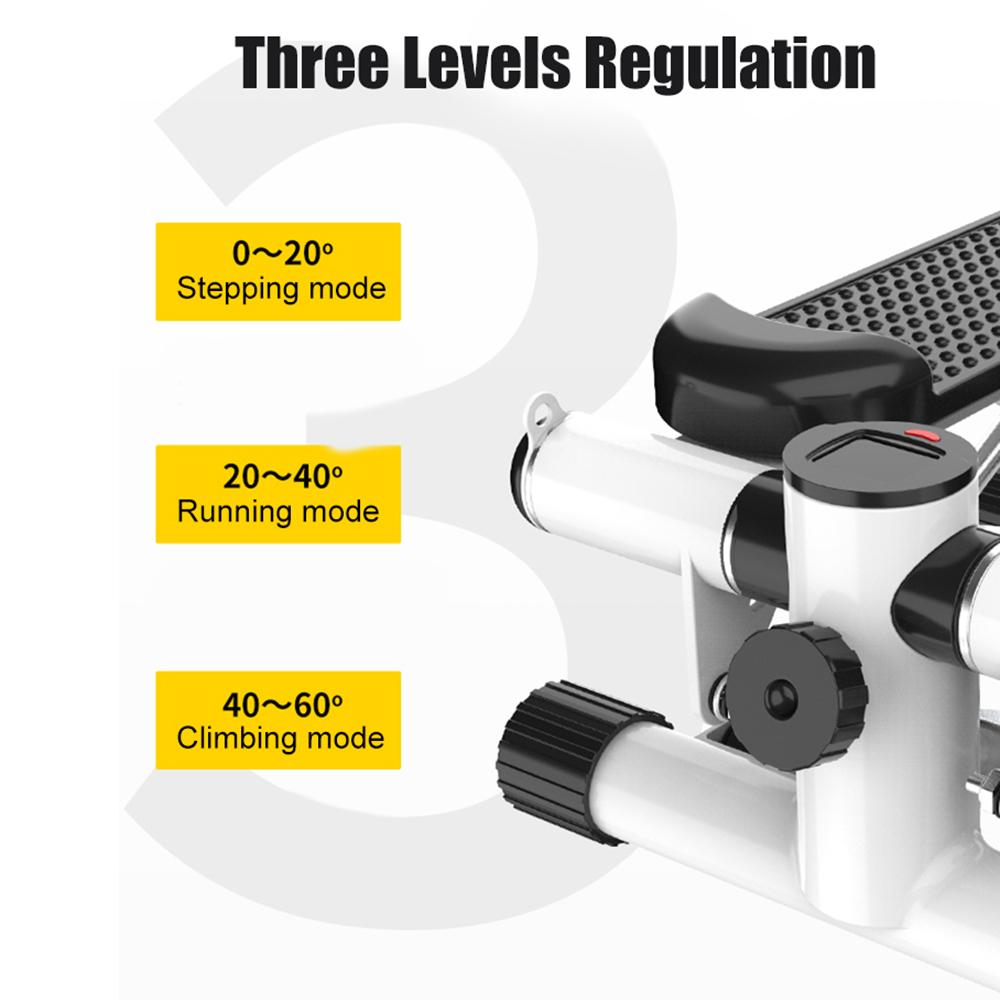 Vieley Adjustable Twist Stepper Exercise Machines Adult Healthy Pedal Home Fitness Equipment