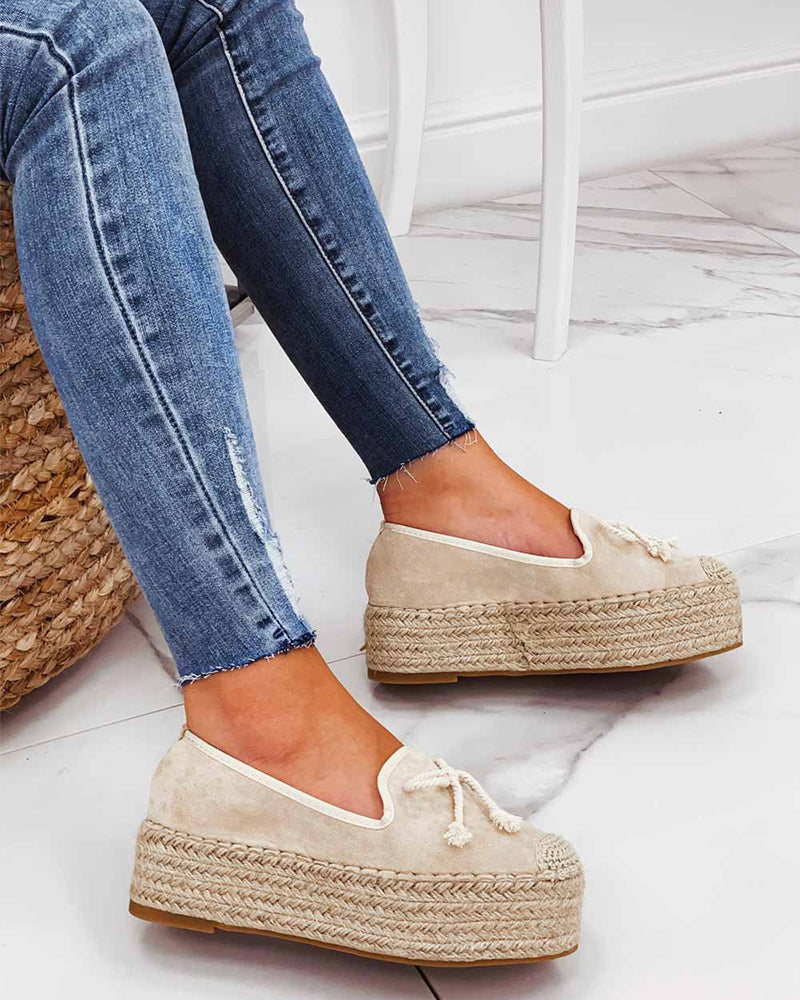 Vieley Slip-on Platform Espadrilles
