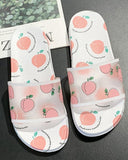 Vieley Women's Fruit Printing Cute Slippers