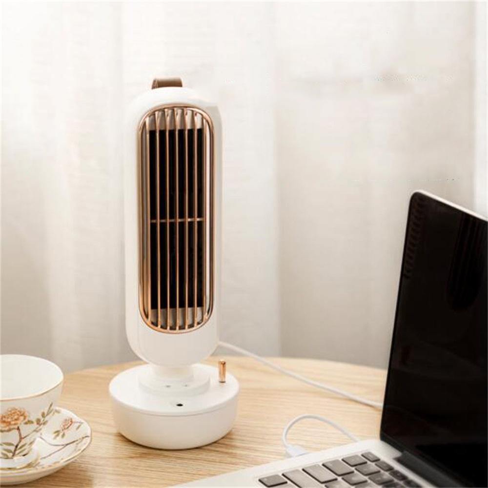 Vieley Stand up Air Conditioner Fan 3 Speed USB Humidifier Misting Fan