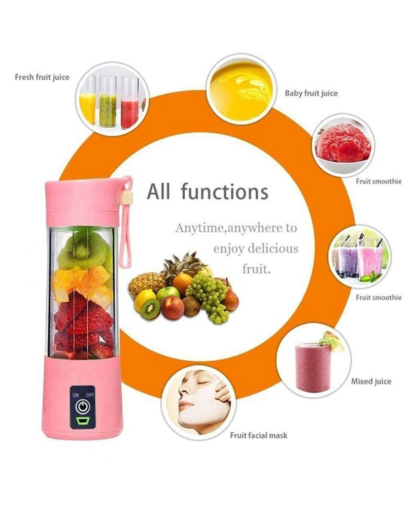 vieley USB Electric Charging Juice Cups Portable Small Cyclone Multifunctional Household Fruit Blender