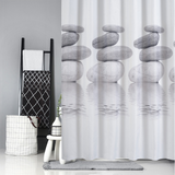 Vieley Shower Curtains Bathroom Fall Waterproof Linen Polyester Curtains