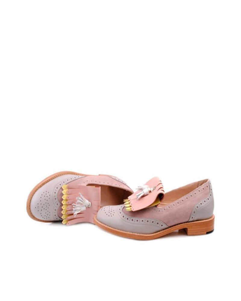 Vieley Womens Round Toe Slip on Loafers