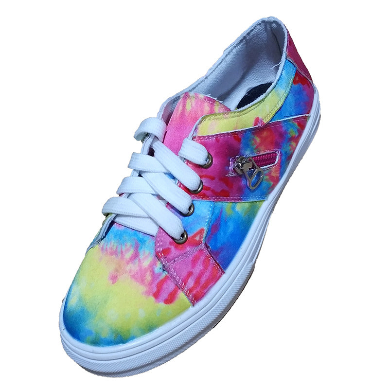 Vieley Womens Colorful Flat Shoes Causal Sneaker