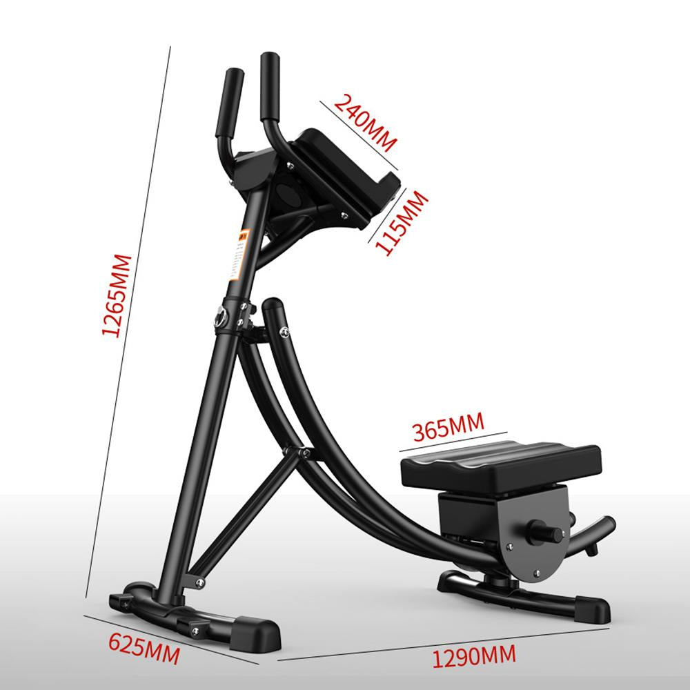 Vieley Fitness Equipment Folding Waist Beauty Machine Abdomen Machine