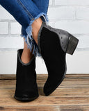 Vieley Women Short Cut out Ankle Booties