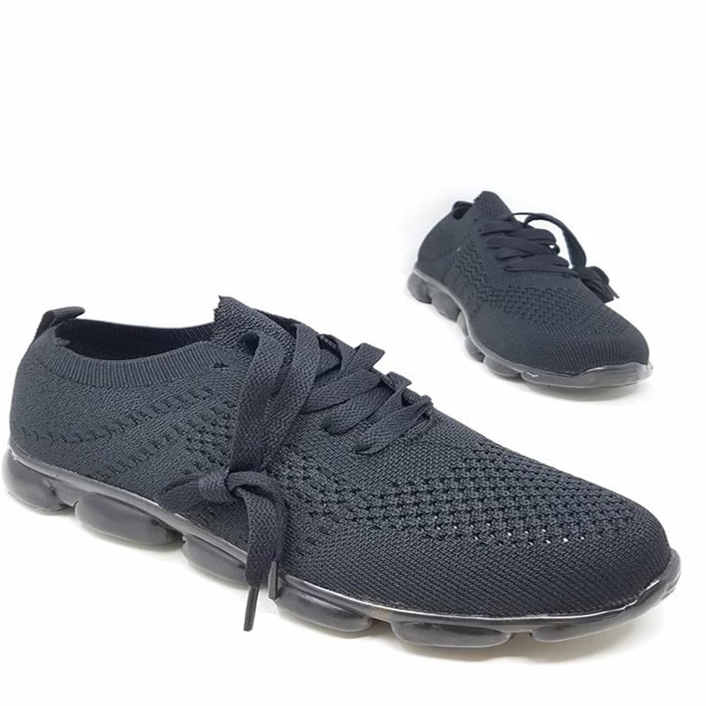 Vieley Womens Elastic Sneakers Breathable Walking Shoes