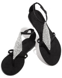 Vieley Womens Bling Flat Fashion Flip-Flops Sandals