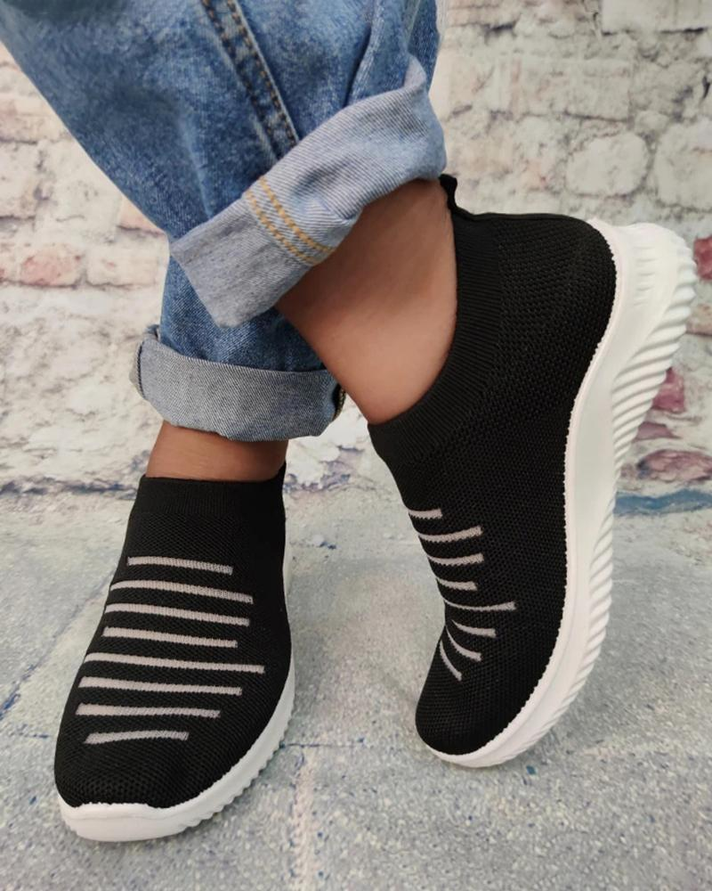 Vieley Lightweight Casual Flat Sneaker Women Shoes
