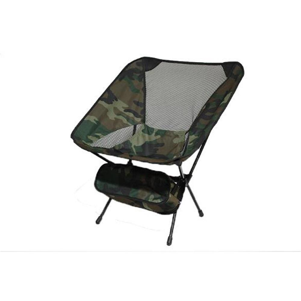 Vieley Foldable Camping Chair with Carry Bag Portable Outdoor Hiking Chair
