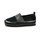 Vieley Women's Platform Slip On Round Toe Loafers