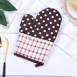 Vieley Kitchen Cooking Cotton Microwave Oven Gloves