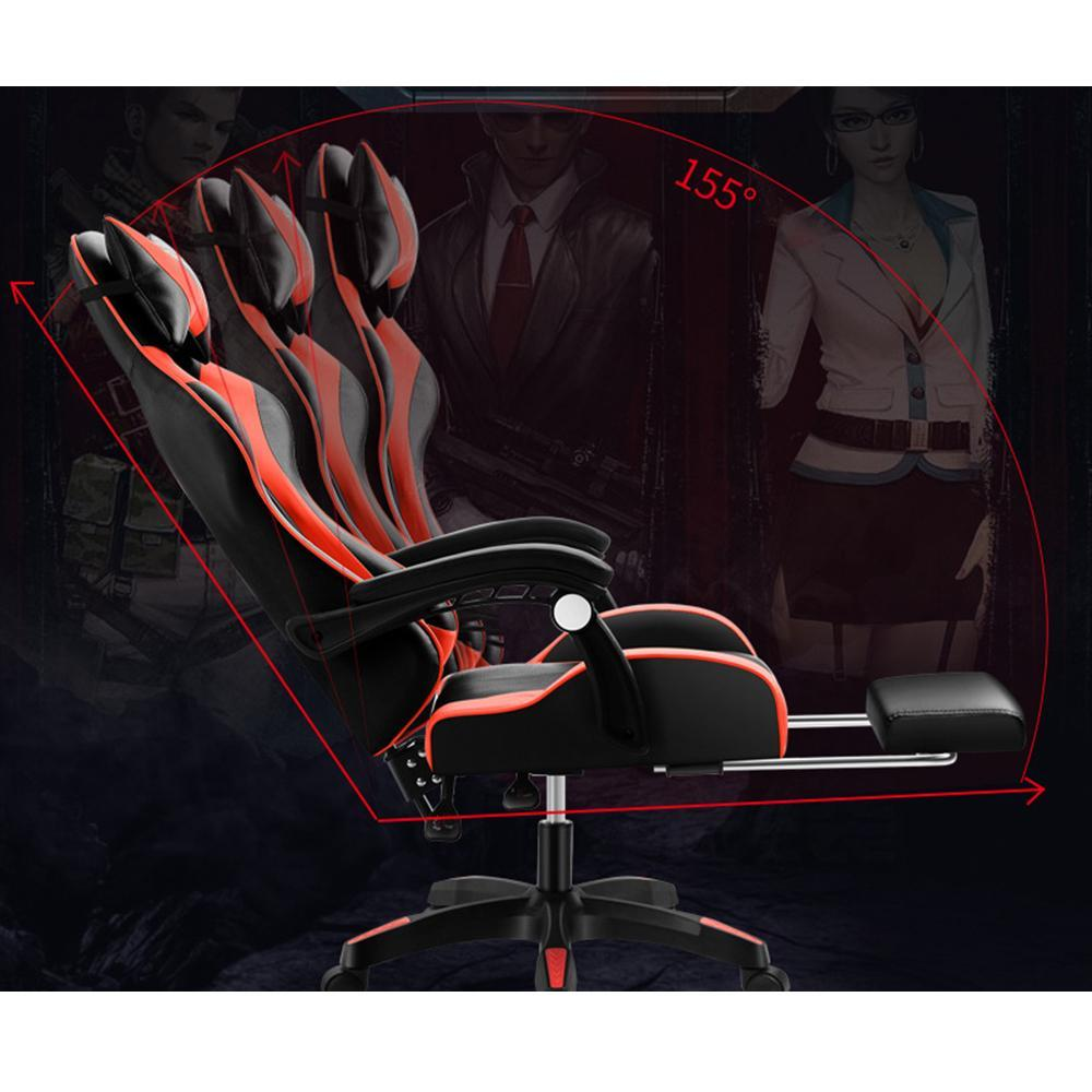 Vieley Office Chair Gaming E-sports Chair Recumbent Racing Chair