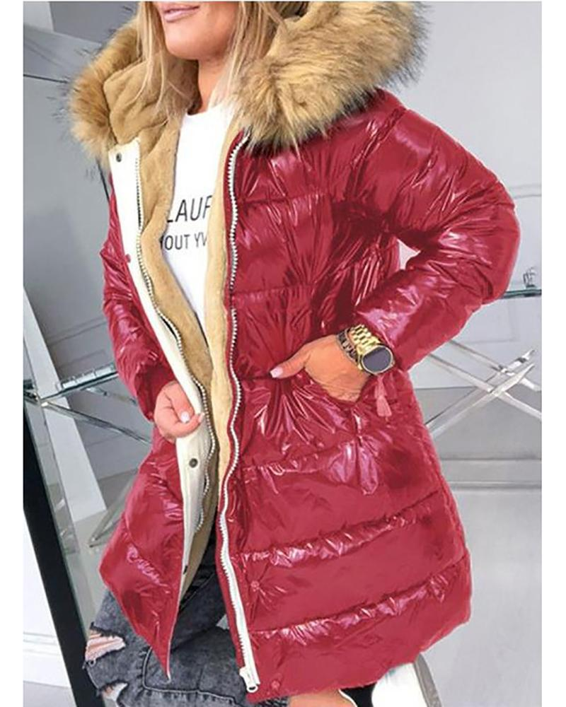 Vieley Womens Thick Down Jacket Clothes Parka Coats Padded Jackets Outwear