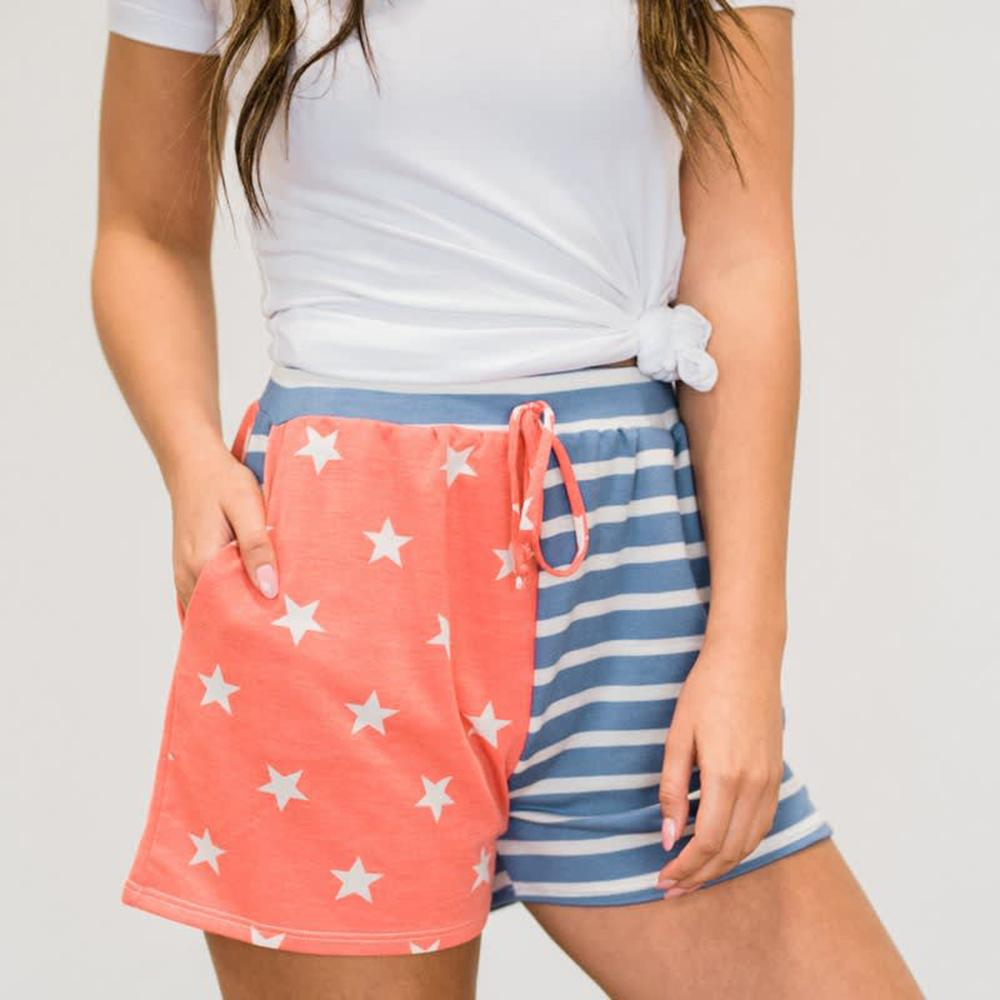 Vieley Cute Comfy Pajamas Sports Shorts