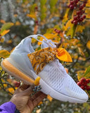 Vieley Popcorn Bottom Coloured Ribbon Breathable Sneakers
