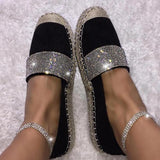 Vieley Womens Crystal Rhinestone Stretch Ankle Elastic Charm Anklets