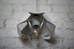 Metal Petal Pendant Light